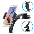 Universal Multifunctional 3-in-1 Car Holder - Black