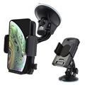 Universal Smartphone / Tablet Car Holder - Black