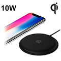 Usams US-CD30 Zodi Fast Qi Wireless Charger - 10W - Black