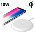 Usams US-CD30 Zodi Fast Qi Wireless Charger - 10W - White