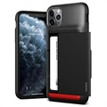 VRS Damda Shield iPhone 11 Pro Max Cover with Cardholder - Black