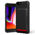 VRS Damda Shield iPhone 7 Plus / 8 Plus Cover with Cardholder - Black