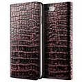 iPhone 7 Plus / 8 Plus VRS Design Croco Diary Wallet Case - Pink