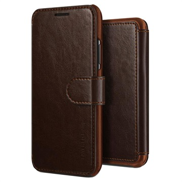 iPhone X / iPhone XS VRS Design Layered Dandy Wallet Case