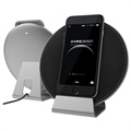 VRS Design Plate Halo Wireless Charger - Silver / Black