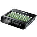 Varta LCD Multi Charger+ Battery Charger 57681 - 8x AAA/AA