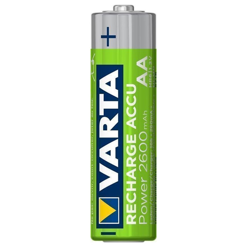 Varta Power Ready2Use Rechargeable AA Batteries 5716101404 - 2600mAh - 1x4