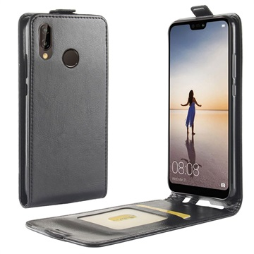 finest selection f0713 4c4b9 Huawei P20 Lite Vertical Flip Case with Card Slot