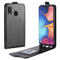 Samsung Galaxy A20e Vertical Flip Case with Card Slot