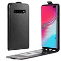 Samsung Galaxy S10 5G Vertical Flip Case with Card Holder