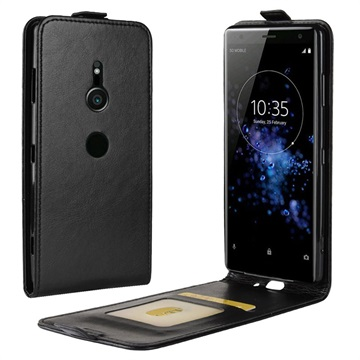 Sony Xperia XZ3 Vertical Flip Case with Card Slot