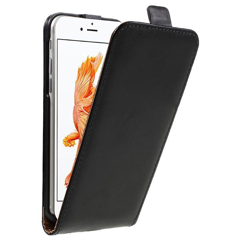 iphone 7 vertical flip case black. Black Bedroom Furniture Sets. Home Design Ideas