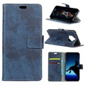 Vintage Series Nokia 9 Wallet Case - Blue