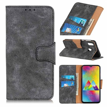 Vintage Series Samsung Galaxy M20 Wallet Case