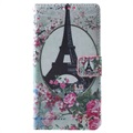 Huawei P8 Lite Wallet Case - Eiffel Tower