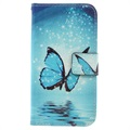 Samsung Galaxy A5 (2017) Wallet Case - Butterfly