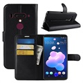 HTC U12+ Wallet Case with Magnetic Closure