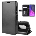 Motorola One Zoom Wallet Case with Magnetic Closure - Black