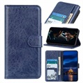 Samsung Galaxy A41 Wallet Case with Magnetic Closure - Blue