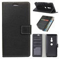 Sony Xperia XZ3 Wallet Case with Stand Feature