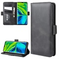Xiaomi Mi Note 10/10 Pro Wallet Case with Magnetic Closure - Black