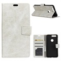Honor View 20 Wallet Case with Stand Feature - Beige