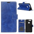 Honor View 20 Wallet Case with Stand Feature - Blue