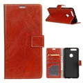 Honor View 20 Wallet Case with Stand Feature - Red