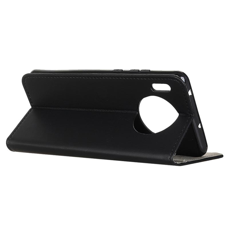 Huawei Mate 30 Wallet Case with Stand Feature - Black