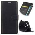 OnePlus 5T Wallet Case with Kickstand Feature - Black