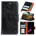 Sony Xperia 10 Wallet Case with Stand Feature - Black