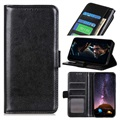 Sony Xperia 10 II Wallet Case with Magnetic Closure - Black
