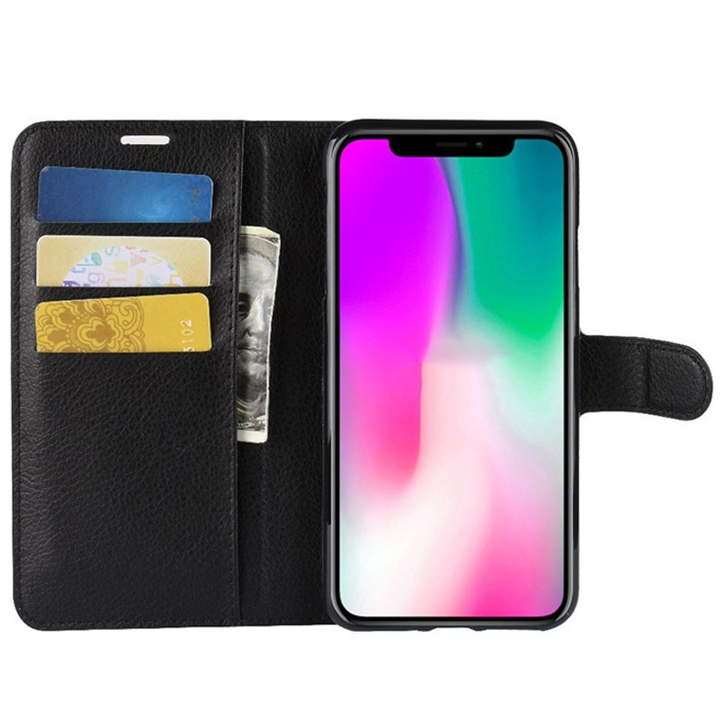 iPhone XR Wallet Case with Magnetic Closure