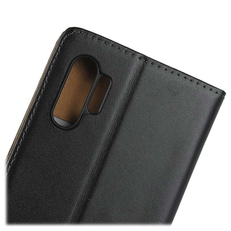 Samsung Galaxy Note10+ Wallet Leather Case - Black