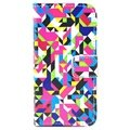 iPhone 5 / 5S / SE Wallet Leather Case - Colorful