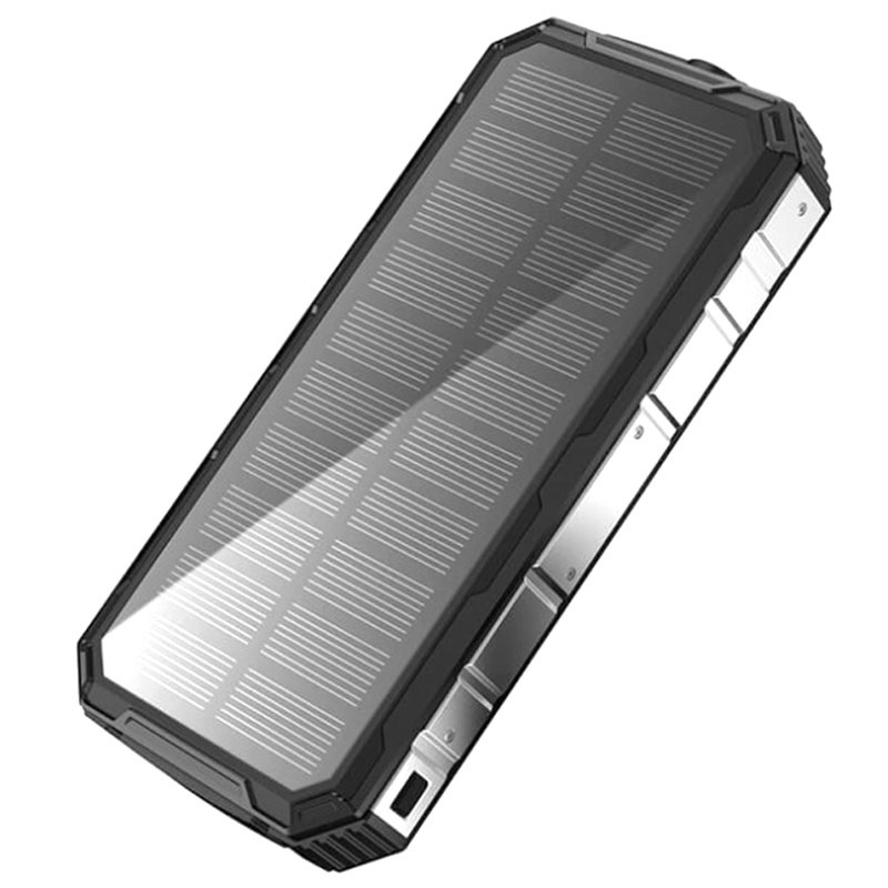Water Resistant Solar Charger / Power Bank - 20000mAh