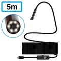 Waterproof 7mm MicroUSB Endoscope Camera - IP67 - 5m