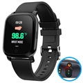Waterproof Bluetooth Smartwatch w/ IR Thermometer CV06