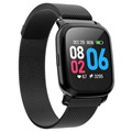 Waterproof Bluetooth Sports Smartwatch CV06 - Milanese - Black