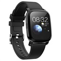 Waterproof Bluetooth Sports Smartwatch CV06 - Silicone - Black