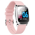 Waterproof Bluetooth Sports Smartwatch CV06 - Silicone - Pink