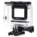 GoPro Hero 7 White, Hero 7 Silver Waterproof Case - Transparent