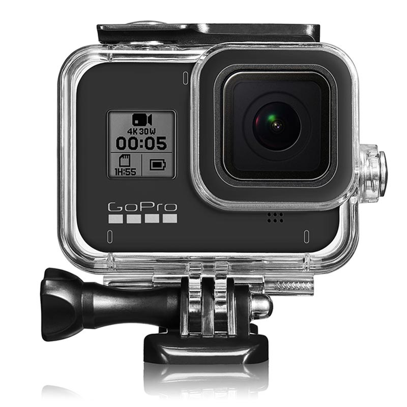 GoPro Hero 8 Black Waterproof Case with Lens Filter - Clear