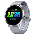 Waterproof Smartwatch with Heart Rate K12 - Grey