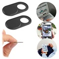 Webcam Privacy Protection Cover - Aluminum Alloy - Black