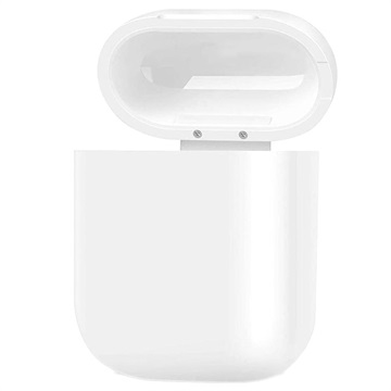 Premium AirPods / AirPods 2 Qi Wireless Charging Case - White