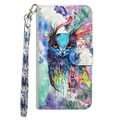 Wonder Series Huawei P30 Pro Wallet Case - Owl