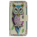 Huawei Y6 (2017) / Y5 (2017) Wonder Series Wallet Case - Owl