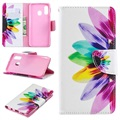 Wonder Series Samsung Galaxy A40 Wallet Case - Flower