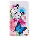 Samsung Galaxy Xcover 4 Wonder Series Wallet Case - Butterflies